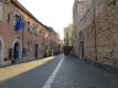 タオルミーナの朝の中心街