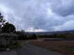夕方の雨雲