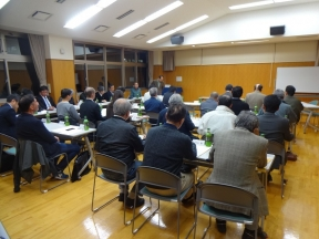 上田会長の開会挨拶