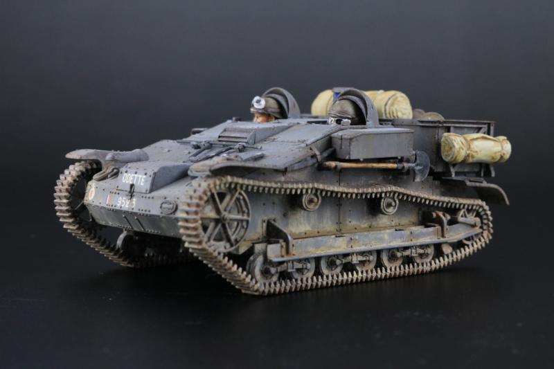 フランス陸軍UEトラクター完成3