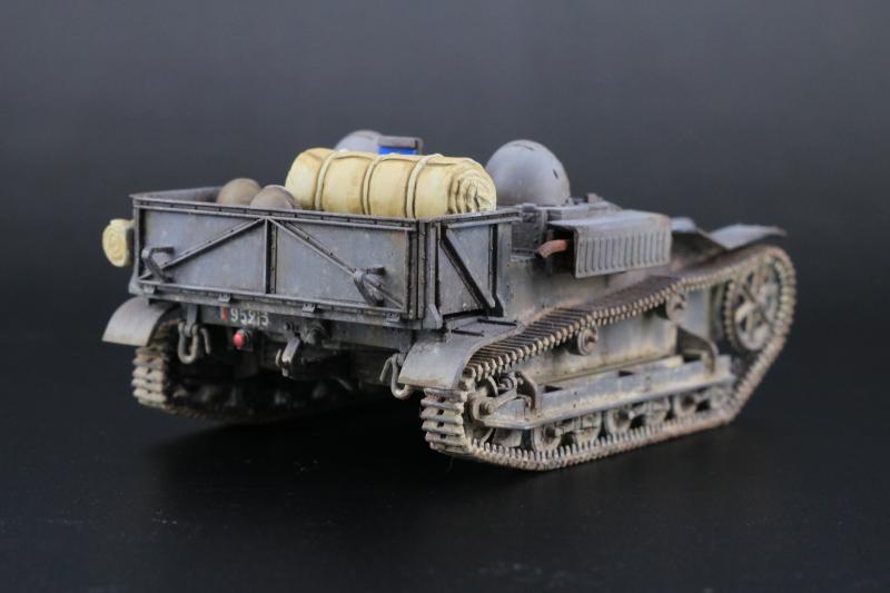 フランス陸軍UEトラクター完成4