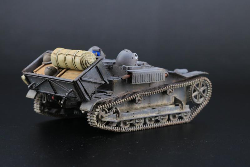 フランス陸軍UEトラクター完成5
