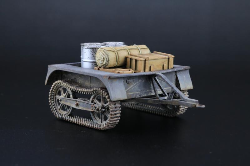 フランス陸軍UEトラクター完成6