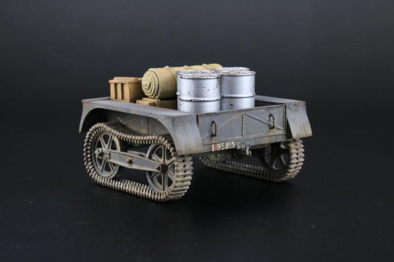 フランス陸軍UEトラクター完成7