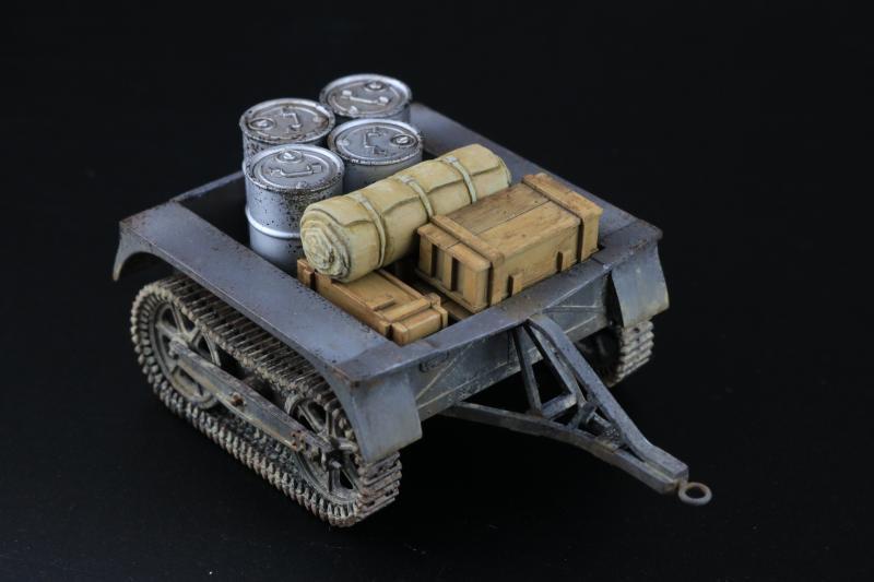 フランス陸軍UEトラクター完成8