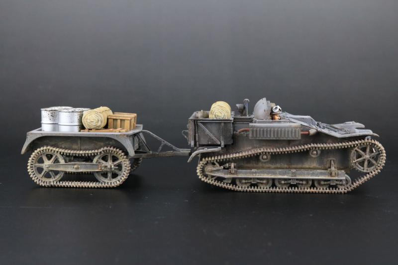 フランス陸軍UEトラクター完成9