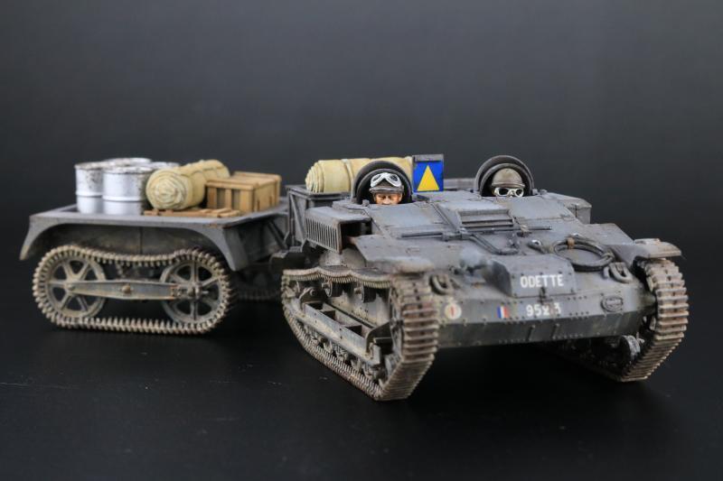 フランス陸軍UEトラクター完成10