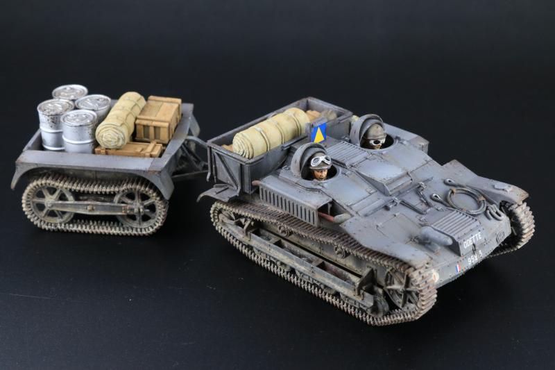 フランス陸軍UEトラクター完成11