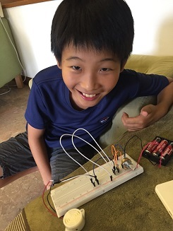 buzzer with photoresistor