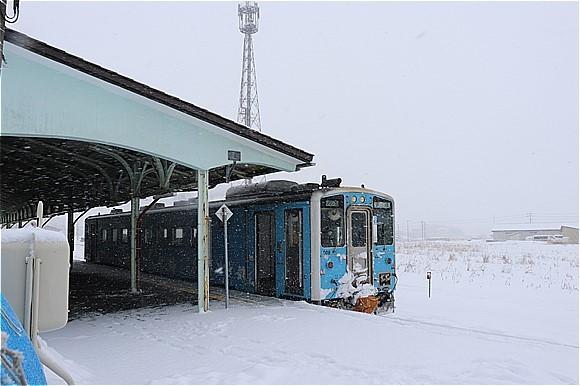 s-㉕根室駅ホーム