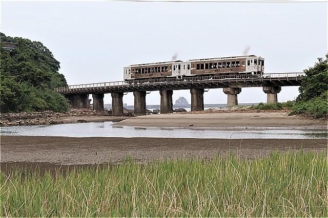 s-⑮橋梁を渡る