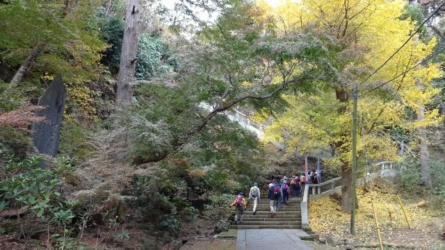 12石段を登る