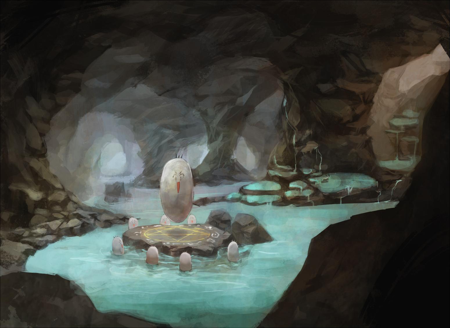 Boriの洞窟