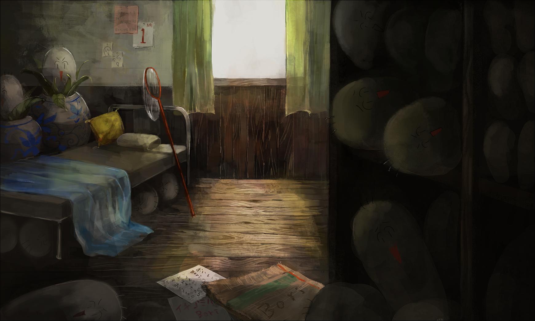 清瑠さんの部屋