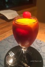 果物がたくさん入ったワインゼリー