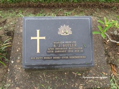 Kanchanaburi War Cemetery,Kanchanaburi,Thailand