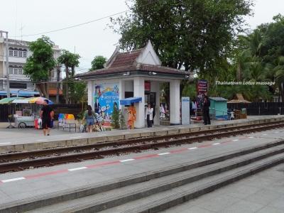 Saphan Kwae Yai Station(戦場にかける橋),Kanchanaburi,Thailand