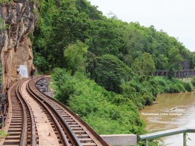 Saphan Tam Krasae Station,Kanchanaburi,Thailand