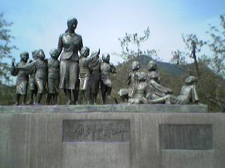 二十四の瞳の銅像