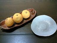 信楽焼&青磁の小皿♪ くん作