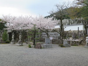 坂本城/20明智一族の墓.jpg
