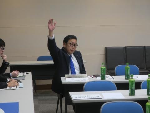 「政務調査会&一般質問勉強会5日目」④