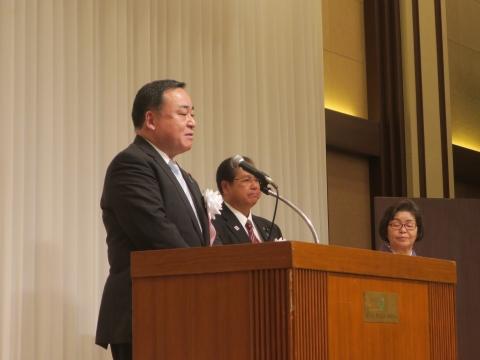 「川津 隆氏 第111代茨城県議会議長就任祝賀会」⑤