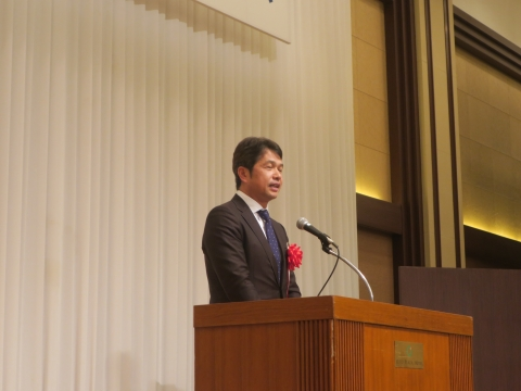 「川津 隆氏 第111代茨城県議会議長就任祝賀会」⑧