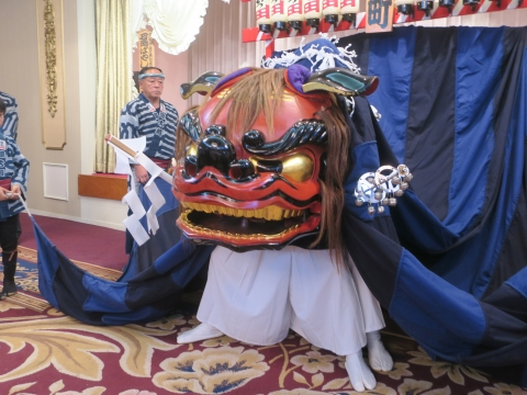 「石岡獅子舞連合会創立30周年記念式典」 (2)