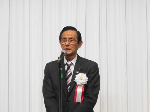 「岡田 広君の参議院自民党議員副会長就任を祝い、更なる活躍を期する会」②