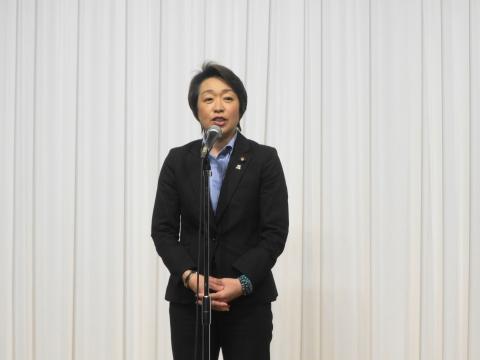 「岡田 広君の参議院自民党議員副会長就任を祝い、更なる活躍を期する会」③