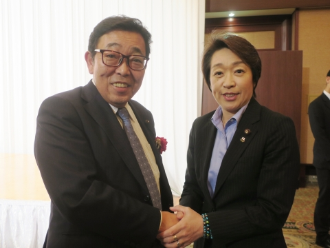 「岡田 広君の参議院自民党議員副会長就任を祝い、更なる活躍を期する会」⑥