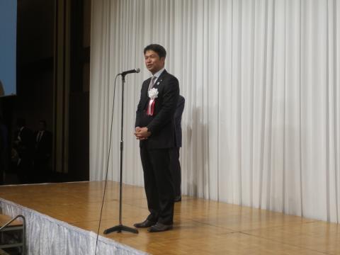 「岡田 広君の参議院自民党議員副会長就任を祝い、更なる活躍を期する会」⑧