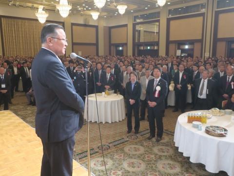 「岡田 広君の参議院自民党議員副会長就任を祝い、更なる活躍を期する会」⑨