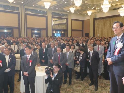 「岡田 広君の参議院自民党議員副会長就任を祝い、更なる活躍を期する会」⓾