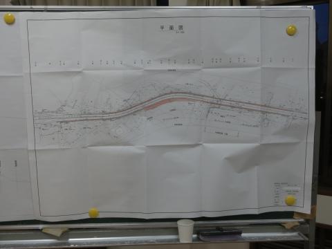 「県道石岡筑西線村上・林地区改修工事」地元説明会⑦