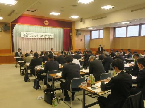 「主要地方道石岡筑西線整備促進期成同盟会」総会④