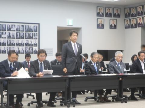 「内示会・議員会・政務調査会」①