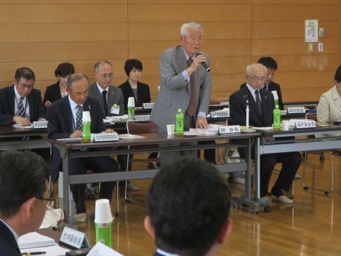 「茨城県社会福祉協議会」理事会④