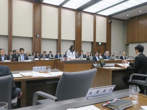 「予算特別委員会」④
