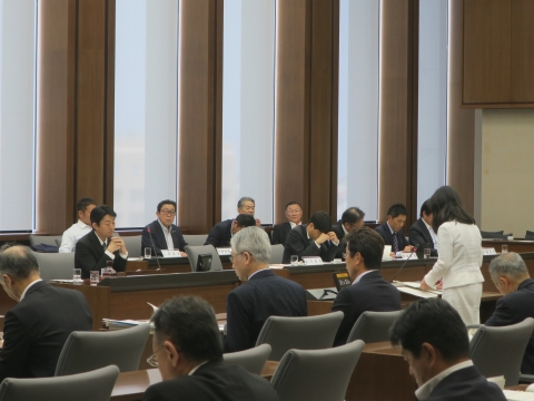 「予算特別委員会」⑤