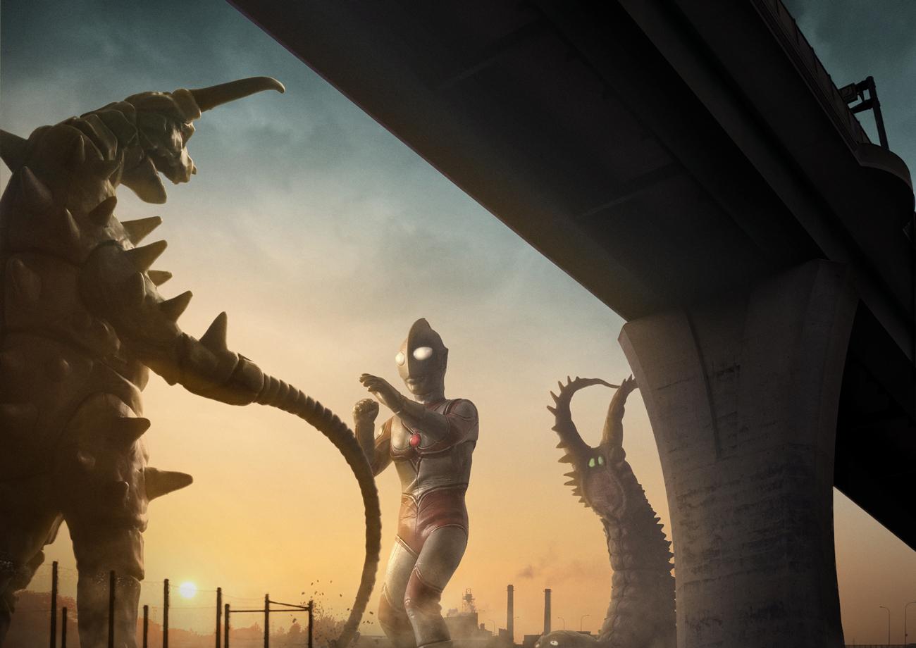 【デジラマ】帰ってきたウルトラマン「二大怪獣東京を襲撃」#ルミナス映えコンテスト用作品