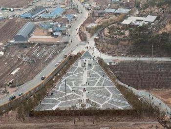 盧武鉉大統領の墓