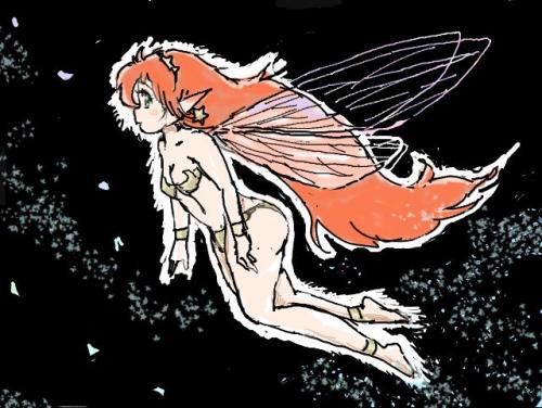赤毛のちびっこ妖精