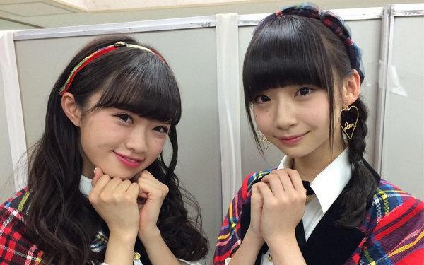 AKB48 NGT48 中井りか 荻野由佳