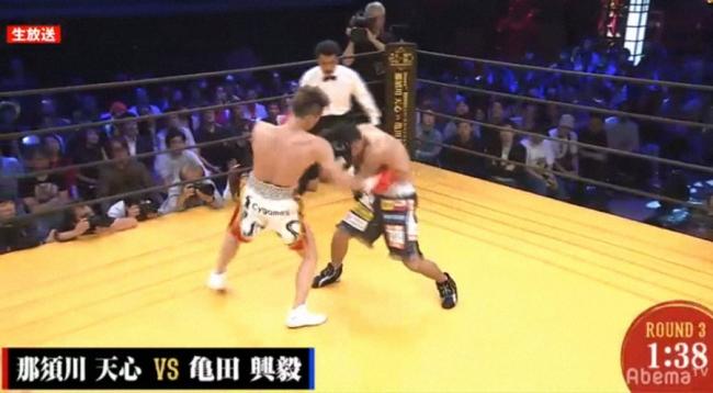 亀田興毅 那須川天心 ボクシング AbemaTV