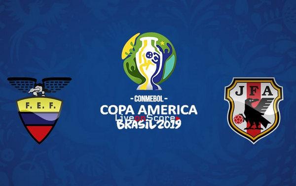 コパ・アメリカ エクアドル代表 日本代表