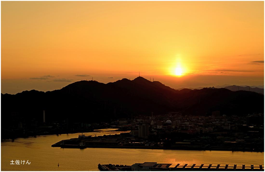 五台山からの夕景3