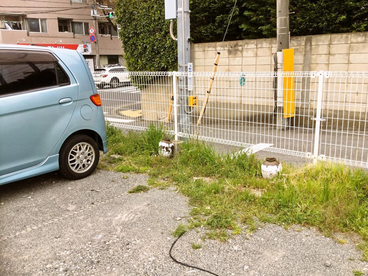 俵飯(駐車場)