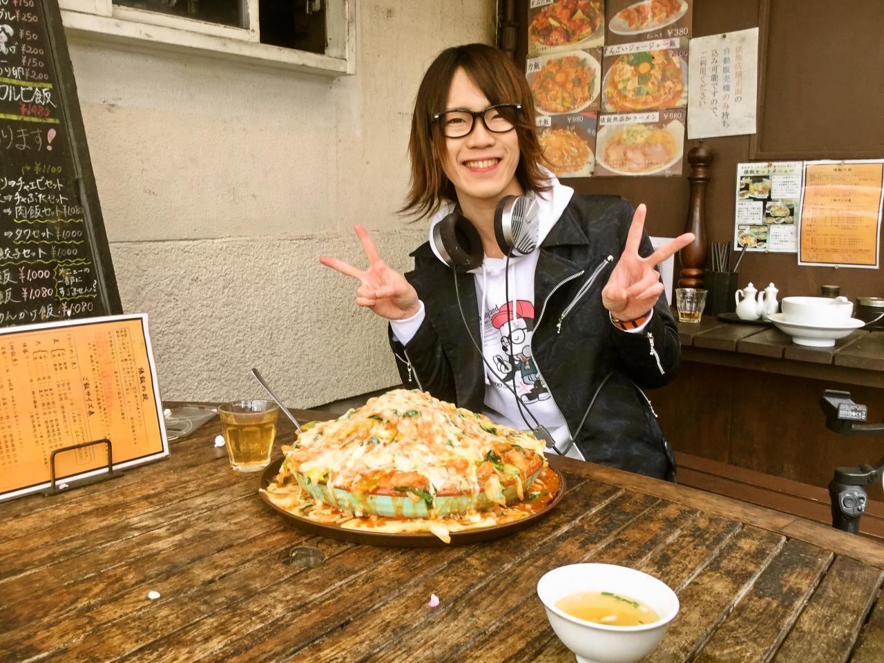 俵飯(チーズダッカルビとドラコ)
